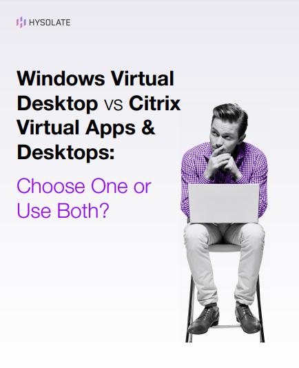 Cover for WVD vs Citrix