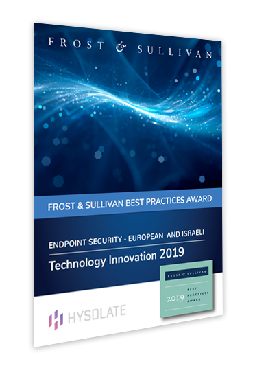 Frost and Sullivan Best Practices Award